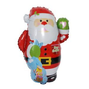 Фольгированная фигура Санта Клаус