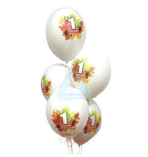 Белые шары с 1 сентября