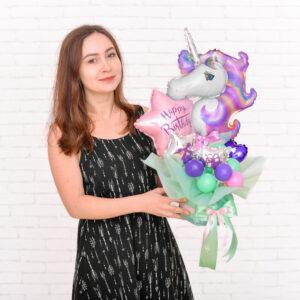 Композиция из мини-фигур на День Рождения для девочки