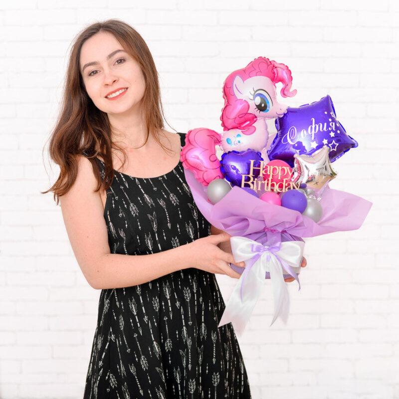Милая композиция с Пинки Пай для девочки