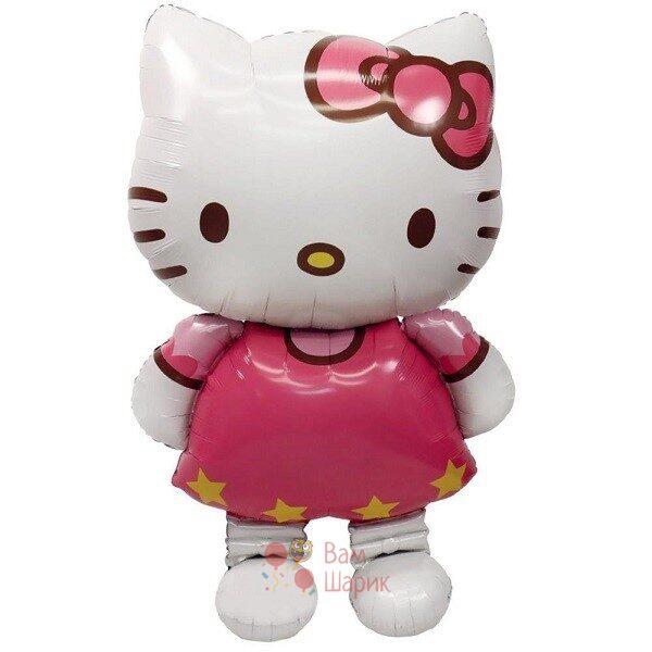 Ходячая фольгированная фигура Hello Kitty