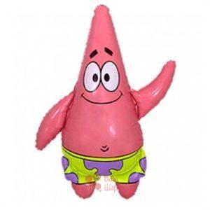 Фольгированная фигура Патрик
