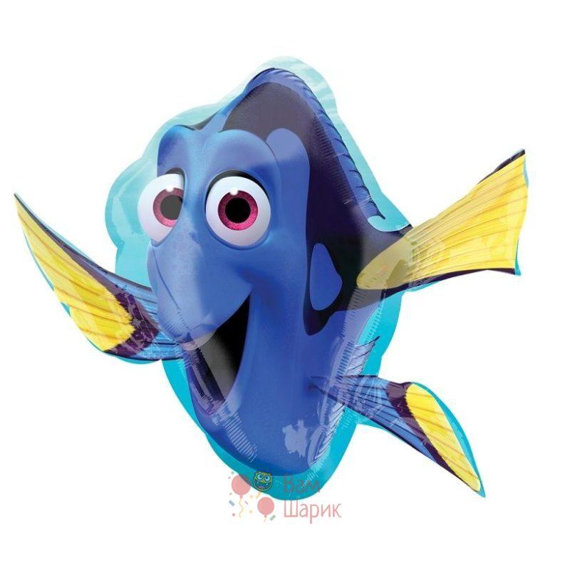 Фольгированная фигура рыбка Дори