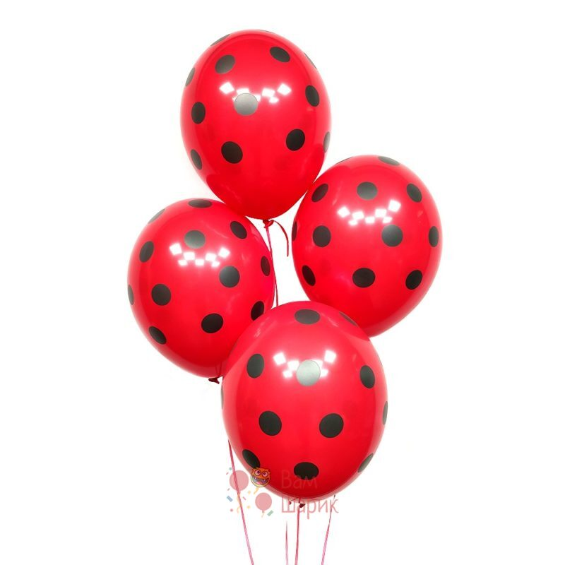 Красные шары в точку
