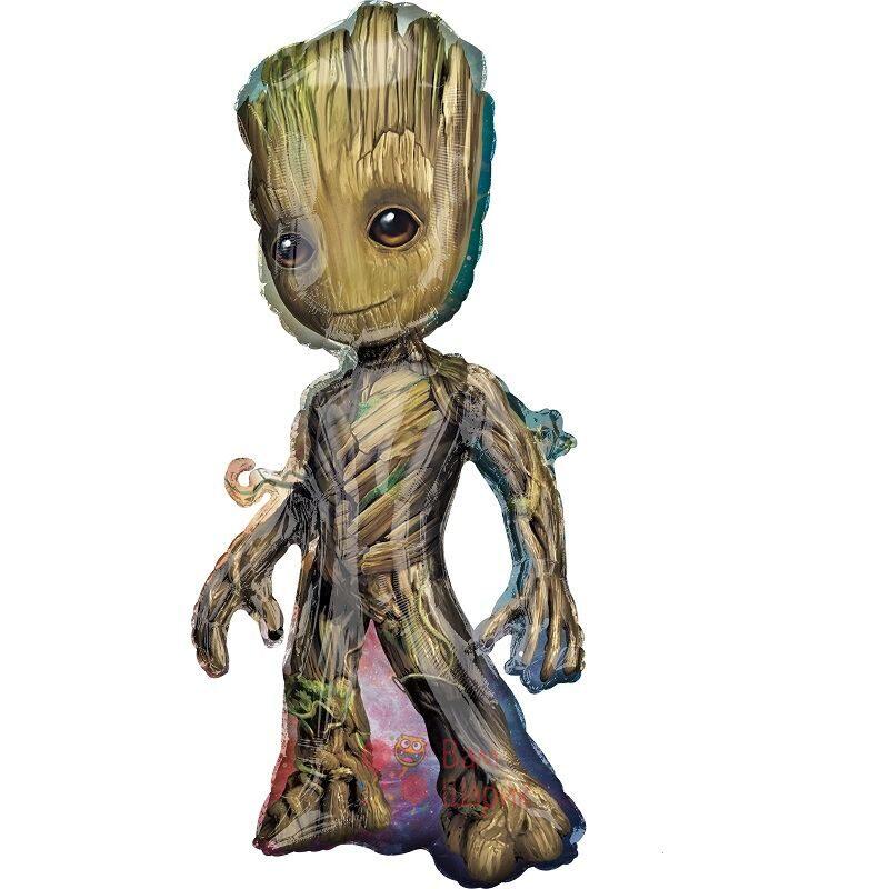 Фольгированная фигура малышь Грут