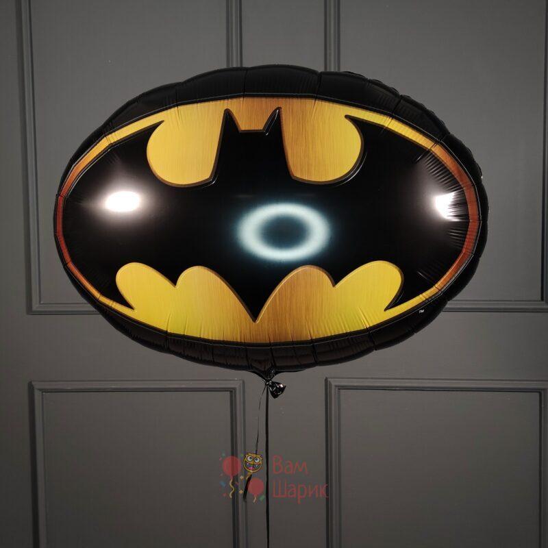 Фольгированный шар эмблема Бетмена