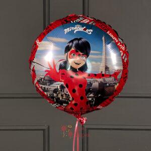 Фольгированное шар Леди Баг