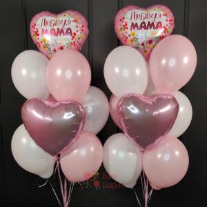 Композиция из шаров на 8 марта Любимая Мама