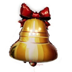 Фольгированный шары колокольчик