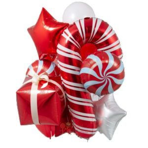 Композиция из шаров на Новый Год!