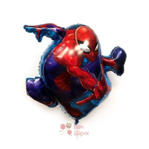 Фольгированная фигура Человек паук в прыжке