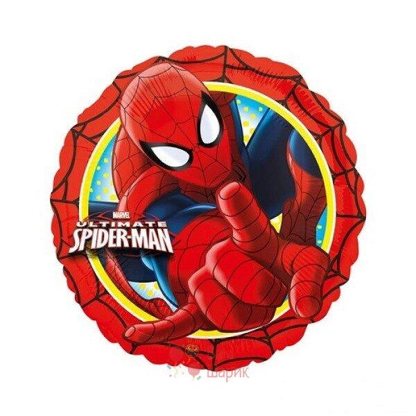 Фольгированный шарик Человек паук