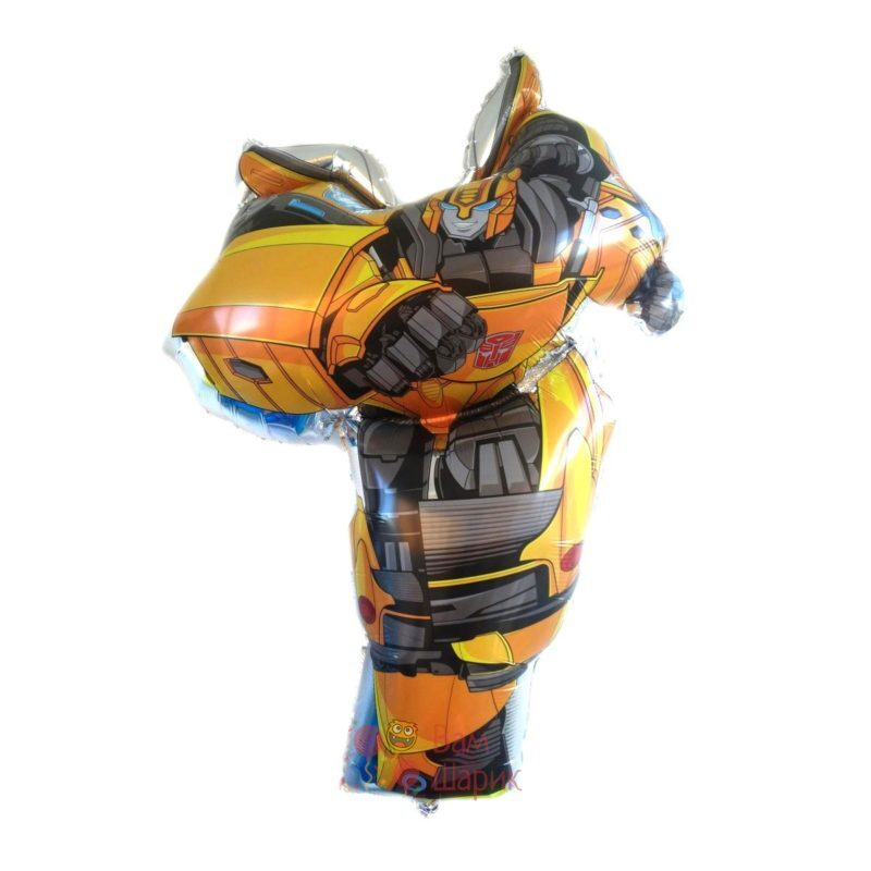 Фольгированная фигура Трансформер Бамблби